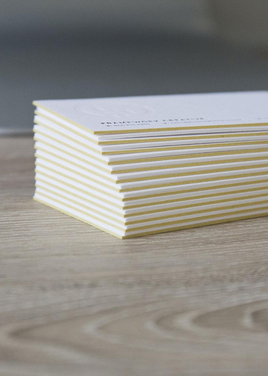 Destin Business Card Design